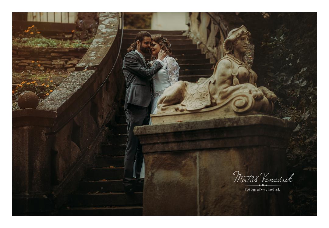 Svadobné foto v Prešove a Fričovciach, Zuzka a Maťo