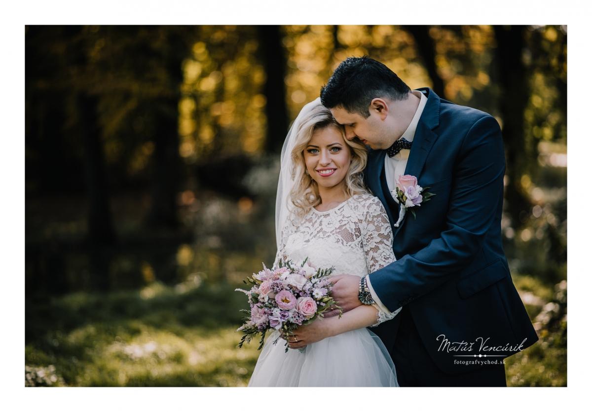Svadobné fotografie v Košiciach, Zuzka a Milan