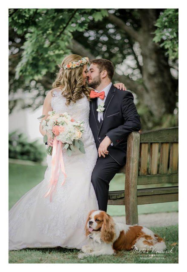 Hermanovce, Péchy kaštieľ, svadobné foto