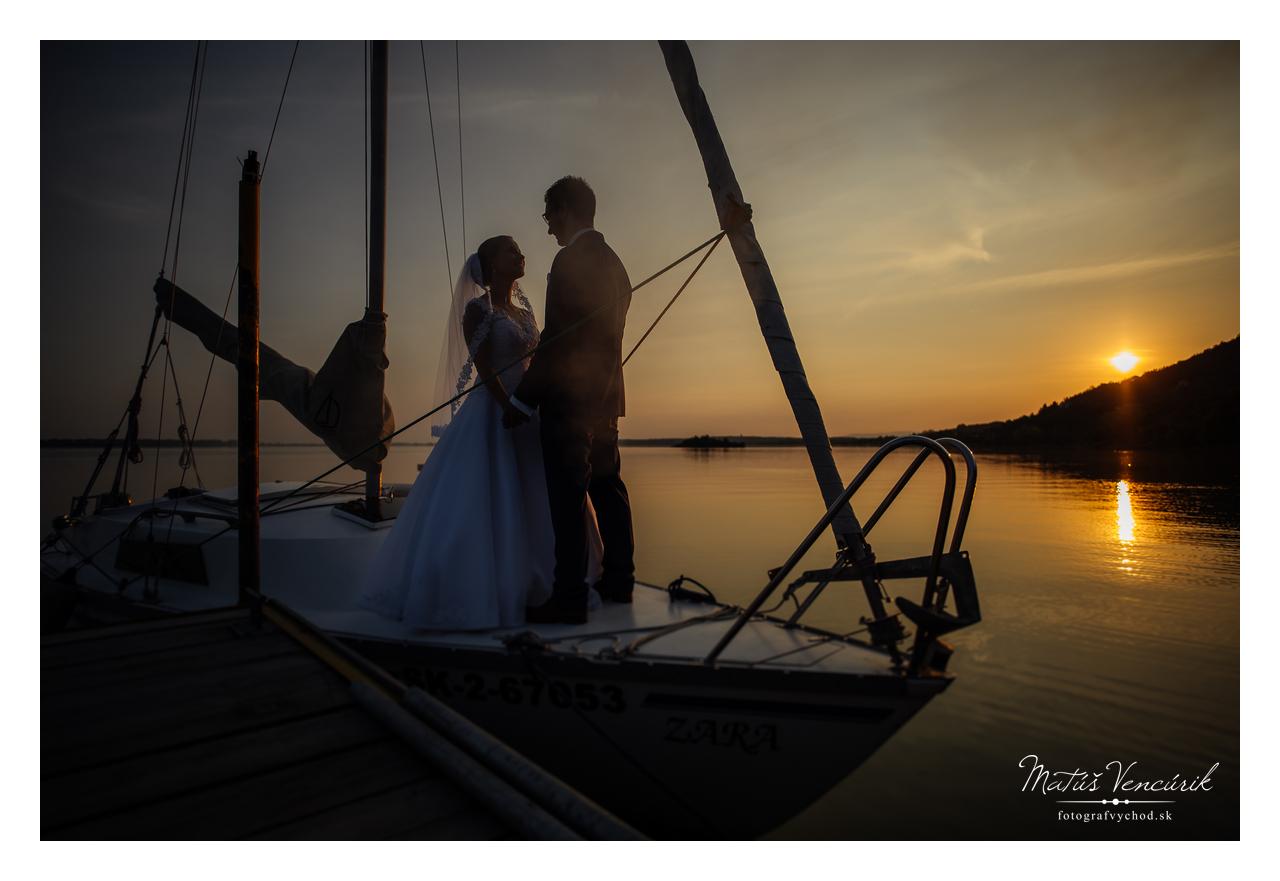 Svadobné foto Šírava