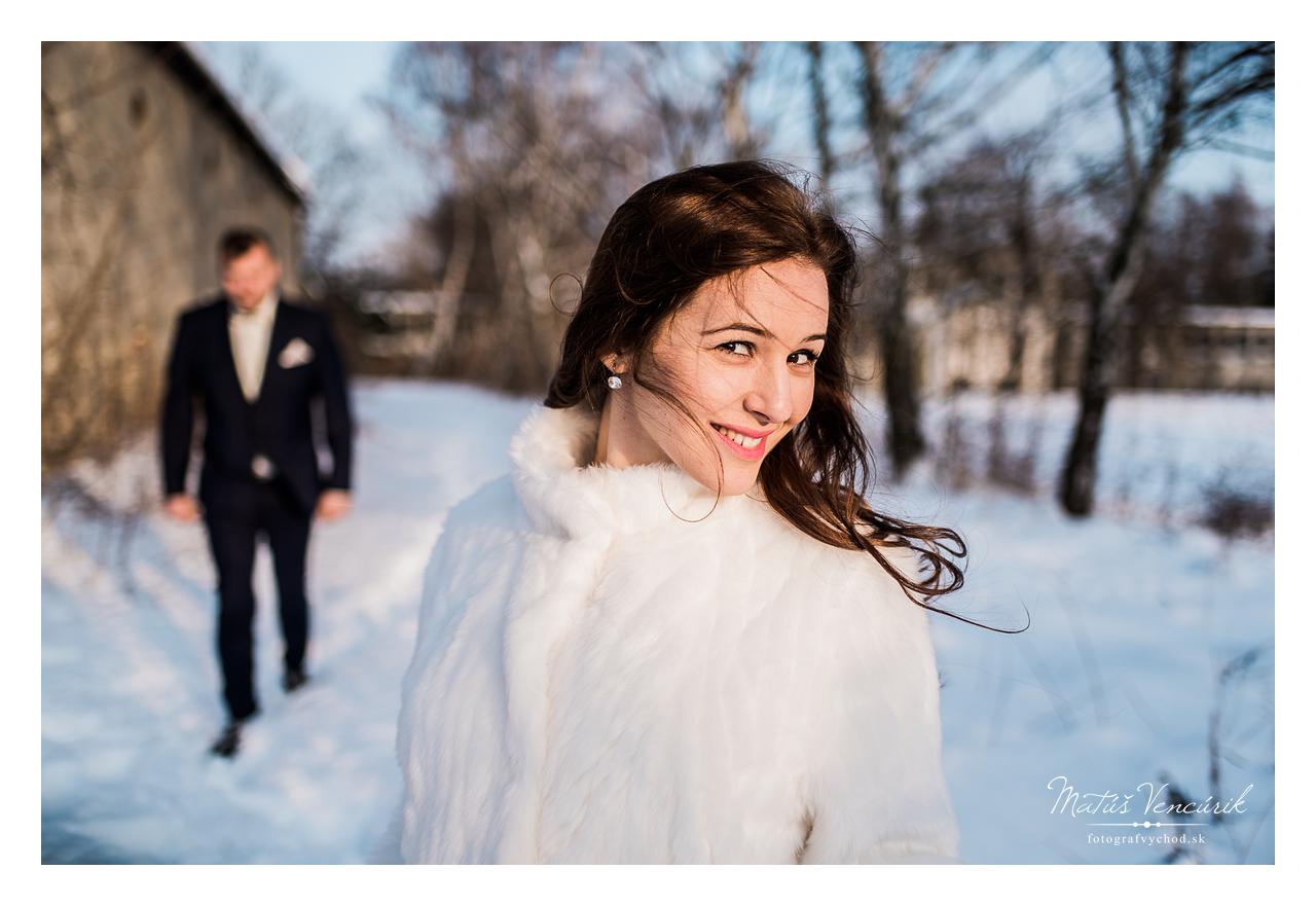 Svadobné fotenie pri Vranove nad Topľou, Svadobný fotograf Matúš Vencúrik