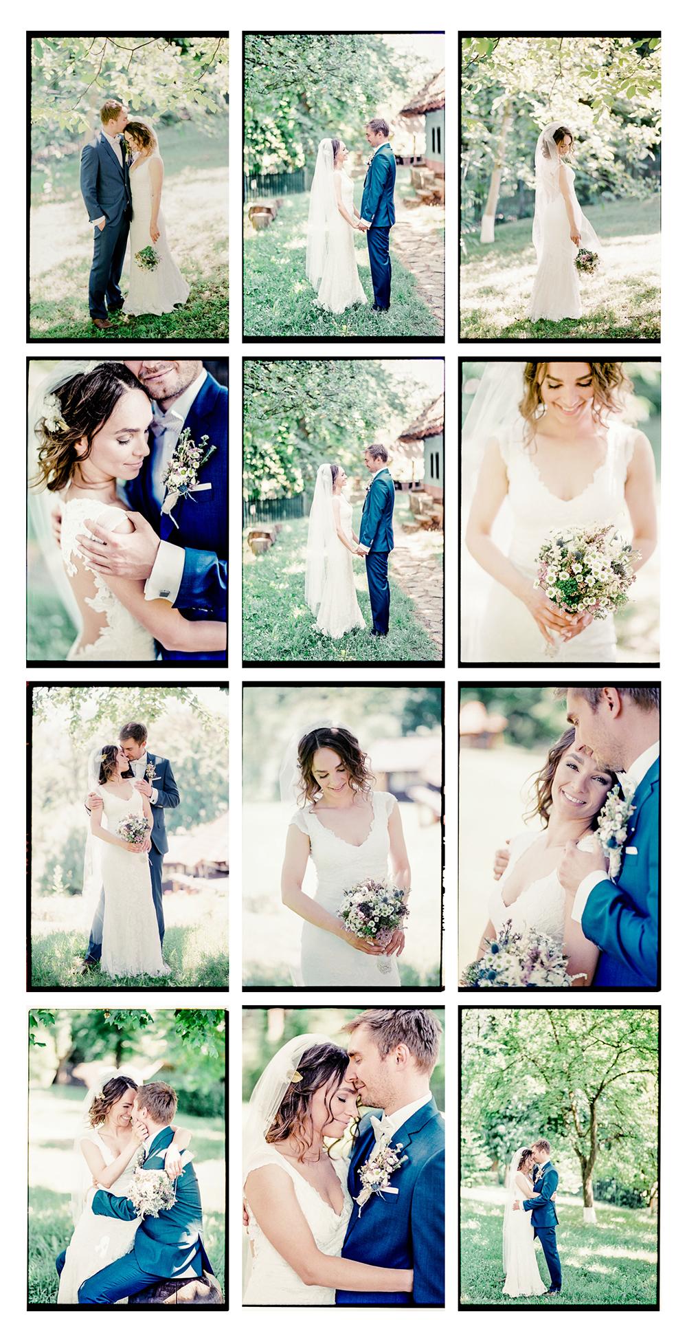 Svadobné fotky na klasický film