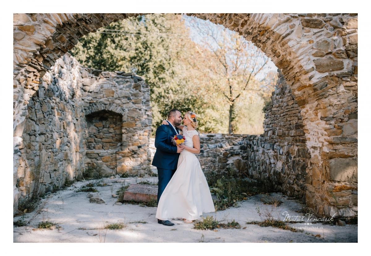 Svadobné fotenie v Krásnom Brode, Juraj a Anička