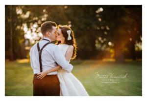 Svadobné foto v Prešove, Ľudo a Peťka vo výbornom svetle