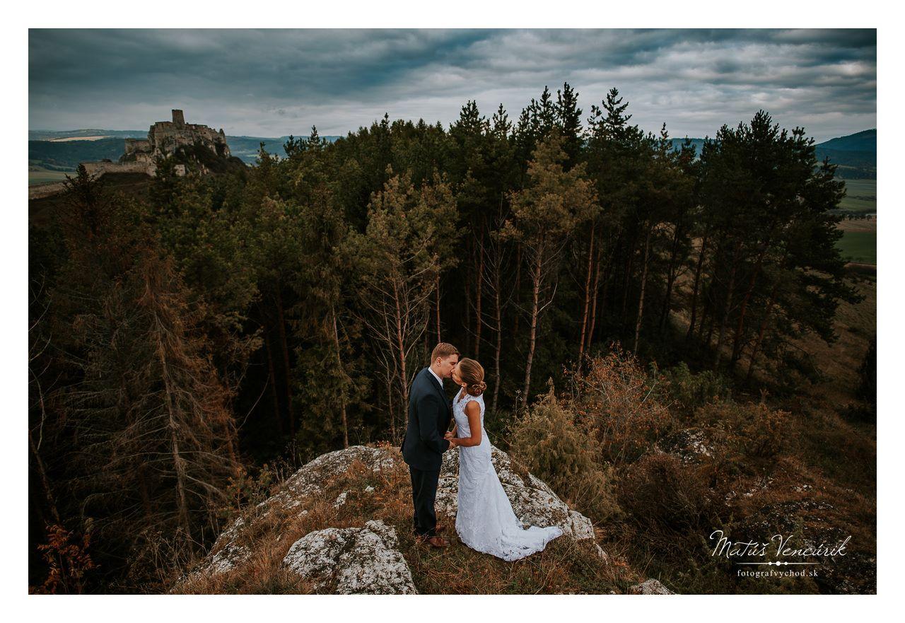 Foto: Matúš Vencúrik, svadobné fotografie, Spišský hrad