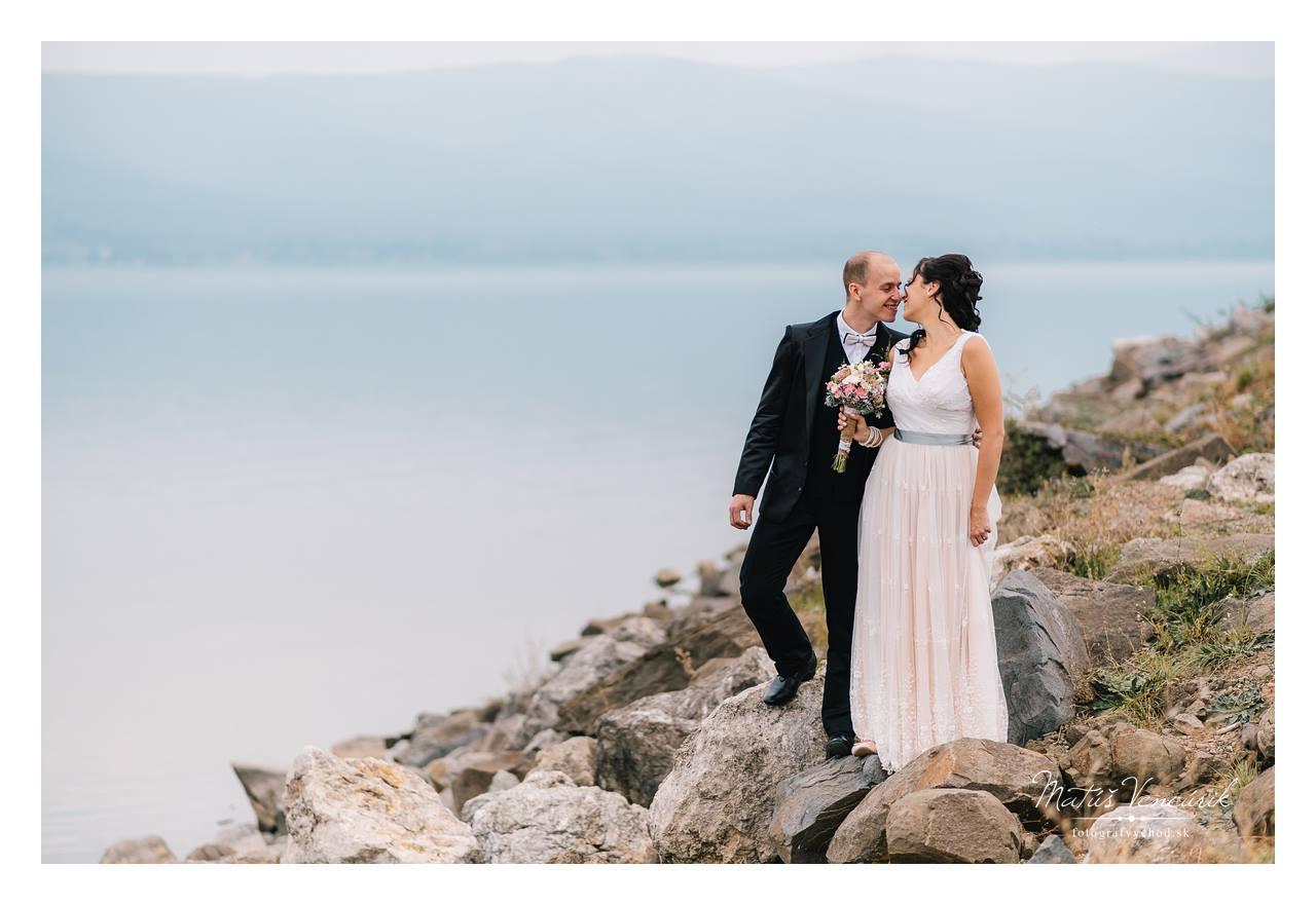 Šírava, svadobné foto