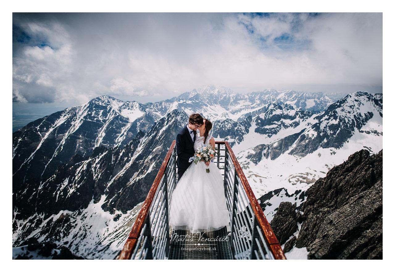 Lomnický štít - svadobné fotky - Vencúrik fotograf