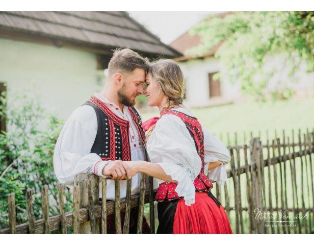 Svadobný fotograf Humenné, Vranov - Matúš Vencúrik, fotenie v kroji