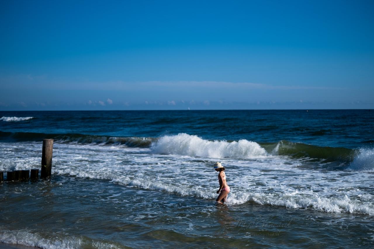 plaz kuznica polostrov hel polsko baltske more baltik dovolenka severne more vlny