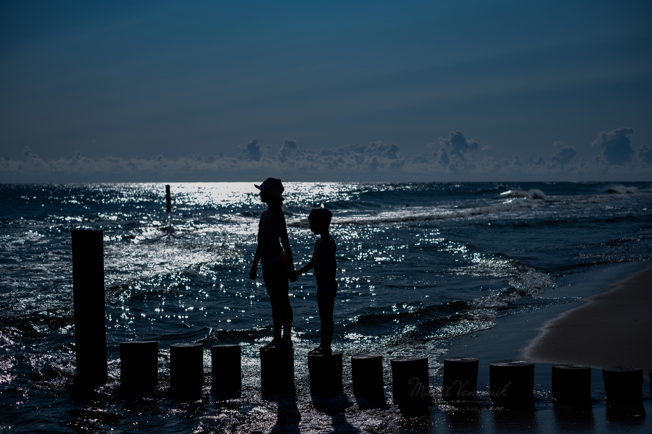 plaz kuznica polostrov hel polsko baltske more baltik